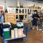Repair Care Einsatz auf der Max-Bill-Schule in Berlin
