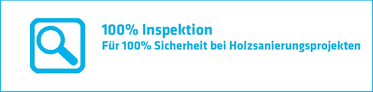 100% Inspektion