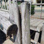 Sanierung öffentlicher Holzspielplatz