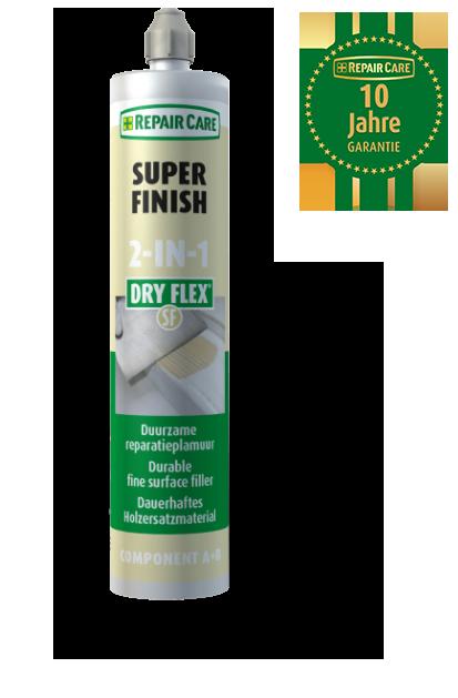 Dry Flex 2-in-1 Super Finish zur Holzreparatur