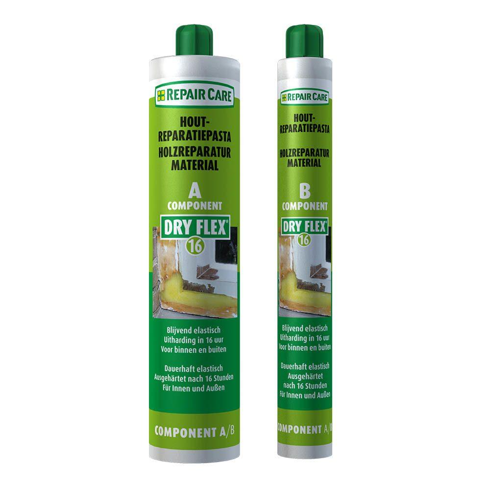 DRY FLEX® 16 - Reparaturmasse für kleine und grosse Holzreparaturen