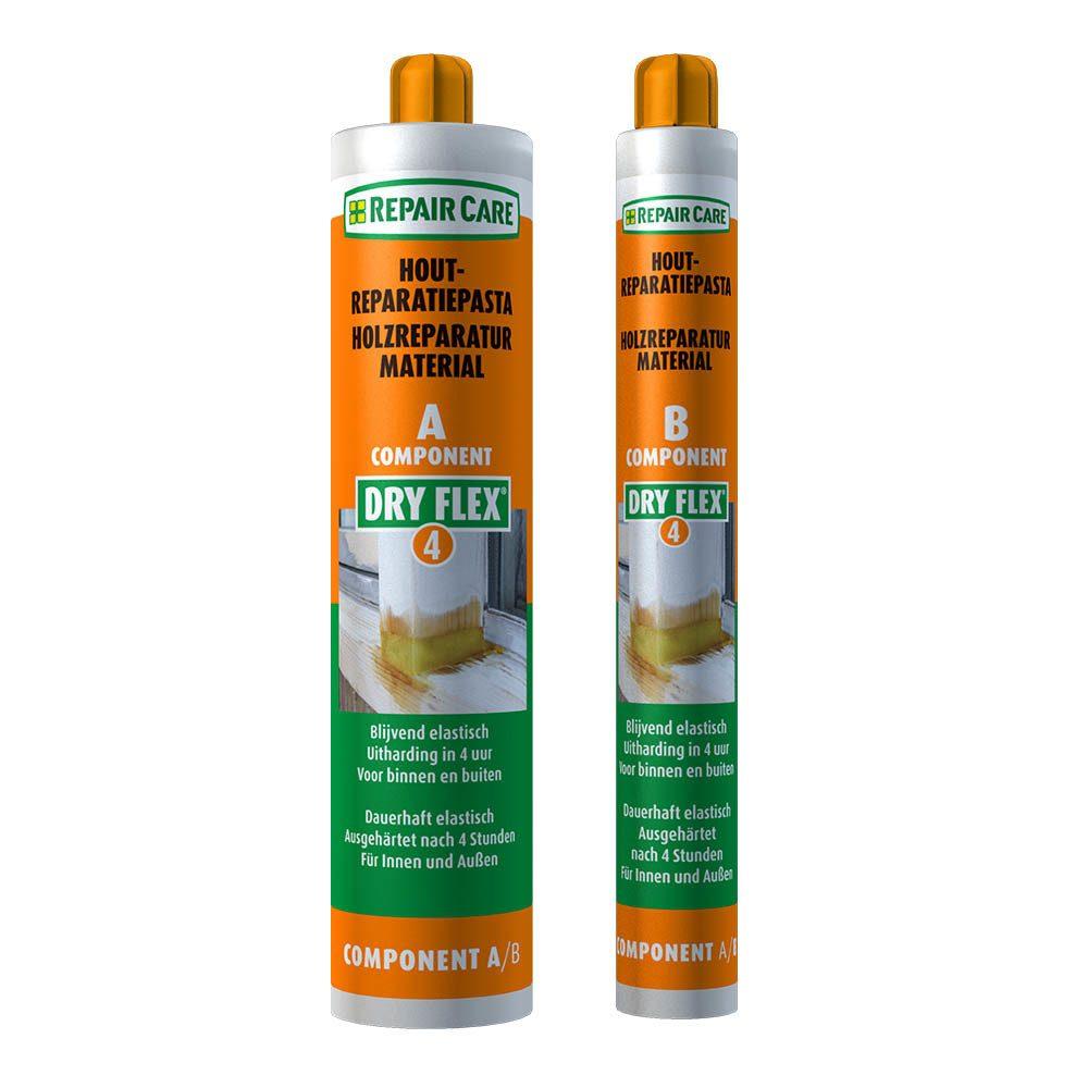 DRY FLEX® 4 - Reparaturmasse für schnelle, dauerhafte Holzreparaturen