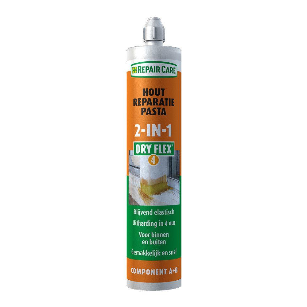 DRY FLEX® 4 2 in 1 - Reparaturmasse für schnelle und dauerhafte Holzreparaturen