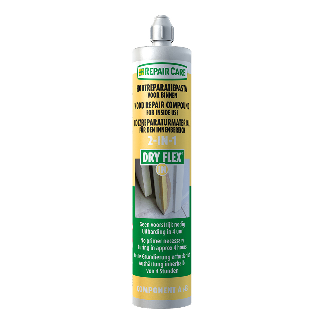 DRY FLEX® IN - Reparaturmasse für Holzreparaturen im Innenbereich