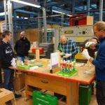 Kompetenztag Holzoberfläche Handwerkskammer Heilbronn-Franken am 11.11.17