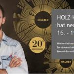 HOLZ-HANDWERK 2020 verschoben auf 16.-19. Juni 2020