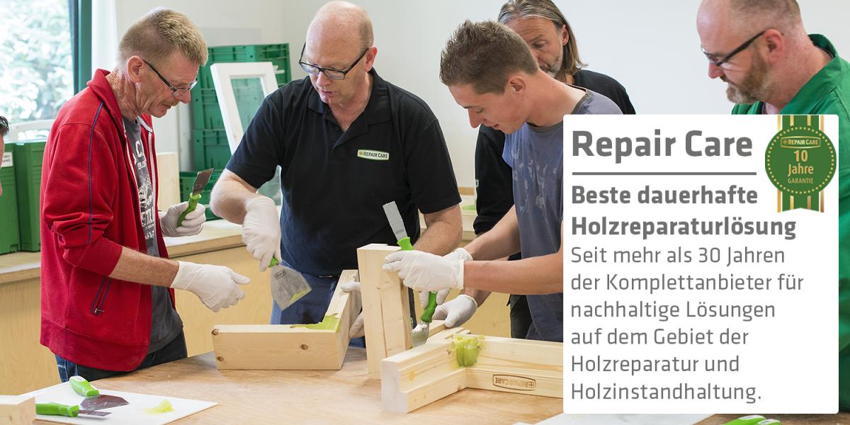 Repair Care – Beste dauerhafte Holzreparaturlösung mit 10 Jahren Garantie