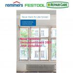 Neue Termine Verbundseminare Repair Care – Festool – Remmers