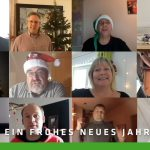 Frohe Weihnachten und alles Gute für das neue Jahr